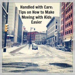 Guest post from our guest blogger from Raising DIck and Jane on Tips on How to Make Moving With Kids Easier